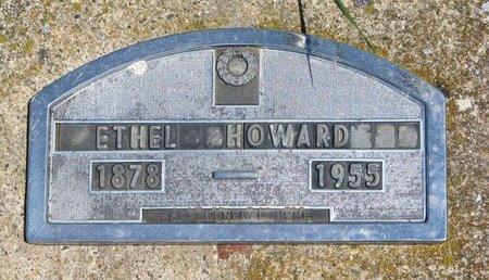 HOWARD, ETHEL - Turner County, South Dakota | ETHEL HOWARD - South Dakota Gravestone Photos
