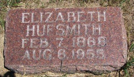 HUFSMITH, ELIZABETH - Turner County, South Dakota | ELIZABETH HUFSMITH - South Dakota Gravestone Photos