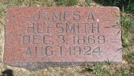 HUFSMITH, JAMES A. - Turner County, South Dakota   JAMES A. HUFSMITH - South Dakota Gravestone Photos