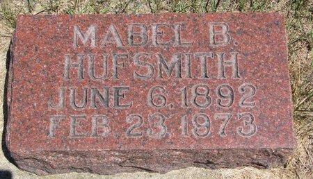 HUFSMITH, MABEL B. - Turner County, South Dakota | MABEL B. HUFSMITH - South Dakota Gravestone Photos