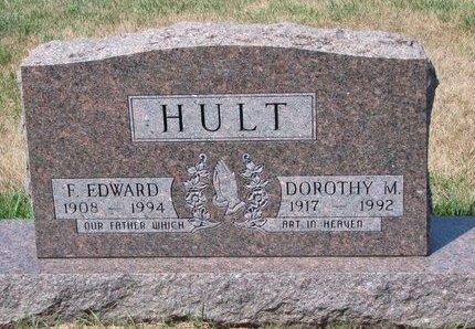 HULT, F. EDWARD - Turner County, South Dakota | F. EDWARD HULT - South Dakota Gravestone Photos