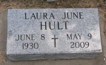 GRUNTMAN HULT, LAURA JUNE - Turner County, South Dakota   LAURA JUNE GRUNTMAN HULT - South Dakota Gravestone Photos