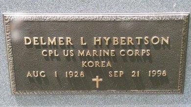 HYBERTSON, DELMER L. (MILITARY) - Turner County, South Dakota   DELMER L. (MILITARY) HYBERTSON - South Dakota Gravestone Photos