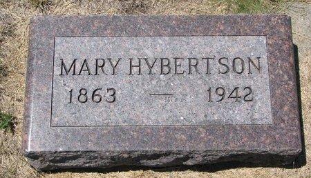 HYBERTSON, MARY - Turner County, South Dakota | MARY HYBERTSON - South Dakota Gravestone Photos
