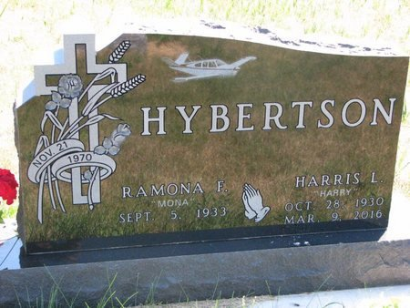 "HYBERTSON, RAMONA F. ""MONA"" - Turner County, South Dakota 