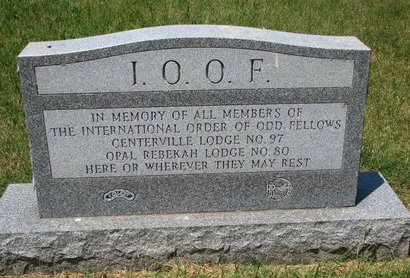 *I.O.O.F., MONUMENT - Turner County, South Dakota | MONUMENT *I.O.O.F. - South Dakota Gravestone Photos