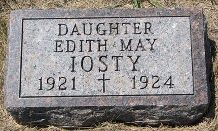 IOSTY, EDITH MAY - Turner County, South Dakota | EDITH MAY IOSTY - South Dakota Gravestone Photos