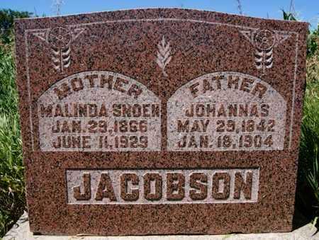 JACOBSON, JOHANNAS - Turner County, South Dakota | JOHANNAS JACOBSON - South Dakota Gravestone Photos