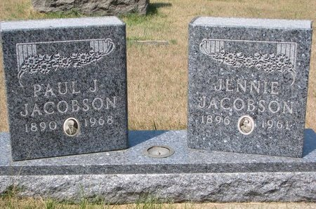 HYBERTSON JACOBSON, JENNIE - Turner County, South Dakota | JENNIE HYBERTSON JACOBSON - South Dakota Gravestone Photos