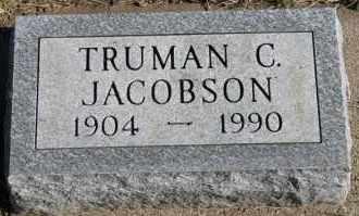 JACOBSON, TRUMAN C - Turner County, South Dakota   TRUMAN C JACOBSON - South Dakota Gravestone Photos