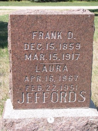 JEFFORDS, FRANK D. - Turner County, South Dakota | FRANK D. JEFFORDS - South Dakota Gravestone Photos