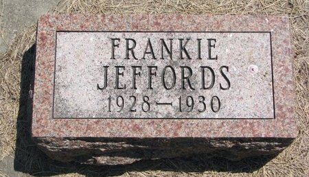 JEFFORDS, FRANKIE - Turner County, South Dakota | FRANKIE JEFFORDS - South Dakota Gravestone Photos