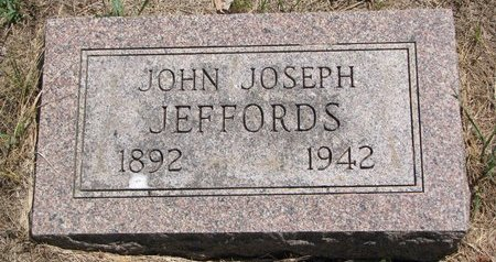 JEFFORDS, JOHN JOSEPH - Turner County, South Dakota | JOHN JOSEPH JEFFORDS - South Dakota Gravestone Photos