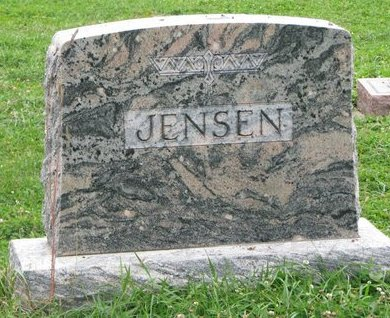 JENSEN, *FAMILY MONUMENT - Turner County, South Dakota | *FAMILY MONUMENT JENSEN - South Dakota Gravestone Photos
