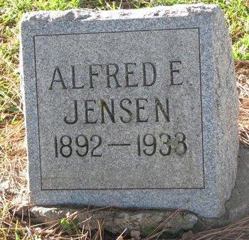 JENSEN, ALFRED E. - Turner County, South Dakota | ALFRED E. JENSEN - South Dakota Gravestone Photos