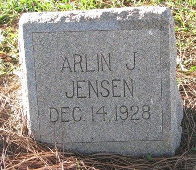 JENSEN, ARLIN J. - Turner County, South Dakota | ARLIN J. JENSEN - South Dakota Gravestone Photos
