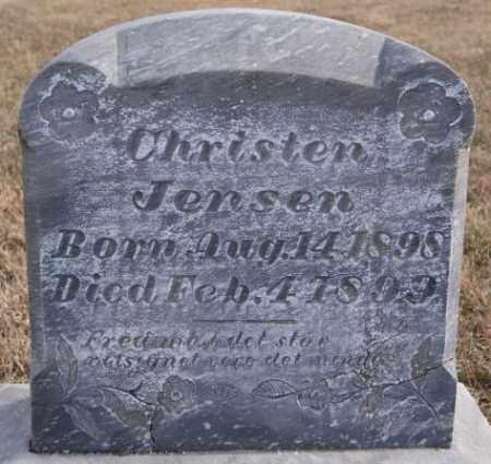 JENSEN, CHRISTEN - Turner County, South Dakota | CHRISTEN JENSEN - South Dakota Gravestone Photos