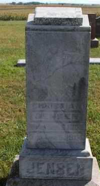 JENSEN, CHRISTIAN - Turner County, South Dakota   CHRISTIAN JENSEN - South Dakota Gravestone Photos