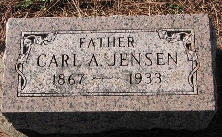 JENSEN, CARL A. - Turner County, South Dakota | CARL A. JENSEN - South Dakota Gravestone Photos