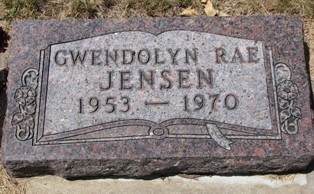 JENSEN, GWENDOLYN RAE - Turner County, South Dakota | GWENDOLYN RAE JENSEN - South Dakota Gravestone Photos