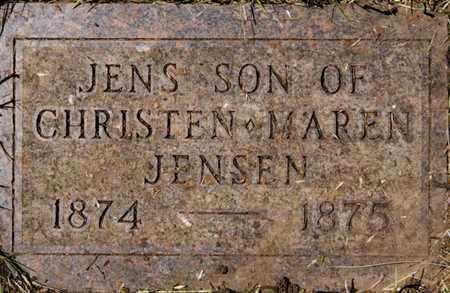 JENSEN, JENS - Turner County, South Dakota | JENS JENSEN - South Dakota Gravestone Photos