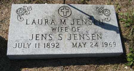 JENSEN, LAURA M. - Turner County, South Dakota   LAURA M. JENSEN - South Dakota Gravestone Photos