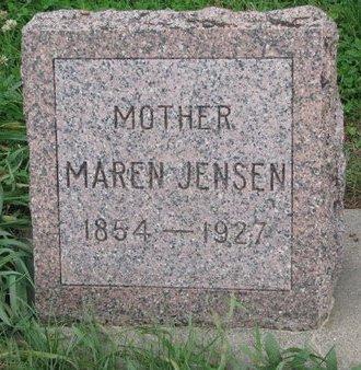 JENSEN, MAREN - Turner County, South Dakota | MAREN JENSEN - South Dakota Gravestone Photos