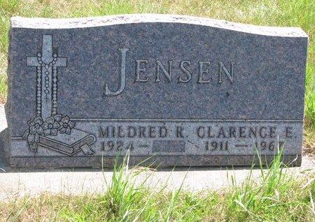 "CAMPBELL JENSEN, MILDRED REBECCA ""MIDGE"" - Turner County, South Dakota | MILDRED REBECCA ""MIDGE"" CAMPBELL JENSEN - South Dakota Gravestone Photos"