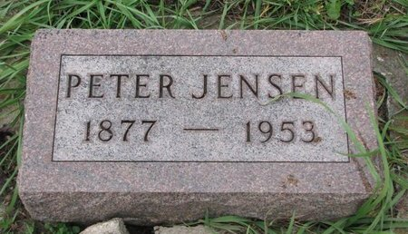 JENSEN, PETER - Turner County, South Dakota | PETER JENSEN - South Dakota Gravestone Photos