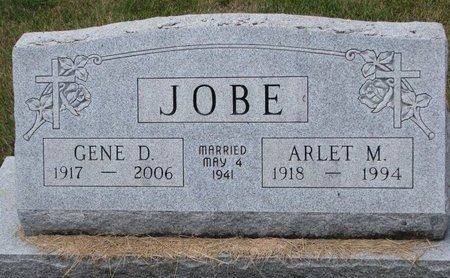 JOBE, GENE D. - Turner County, South Dakota | GENE D. JOBE - South Dakota Gravestone Photos