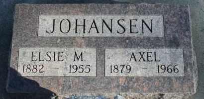 JOHANSEN, ELSIE M - Turner County, South Dakota | ELSIE M JOHANSEN - South Dakota Gravestone Photos