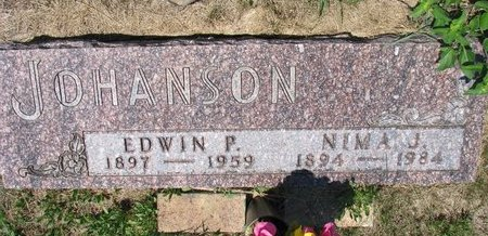 JOHANSON, EDWIN P. - Turner County, South Dakota | EDWIN P. JOHANSON - South Dakota Gravestone Photos