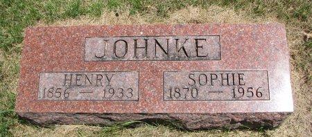 JOHNKE, SOPHIE - Turner County, South Dakota | SOPHIE JOHNKE - South Dakota Gravestone Photos