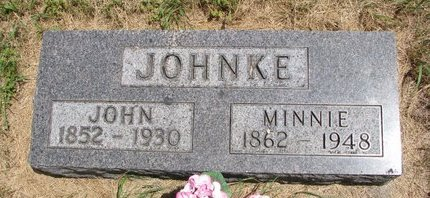 JOHNKE, JOHN - Turner County, South Dakota | JOHN JOHNKE - South Dakota Gravestone Photos