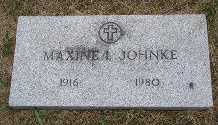 JOHNKE, MAXINE L. - Turner County, South Dakota   MAXINE L. JOHNKE - South Dakota Gravestone Photos