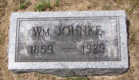 JOHNKE, WILLIAM - Turner County, South Dakota | WILLIAM JOHNKE - South Dakota Gravestone Photos