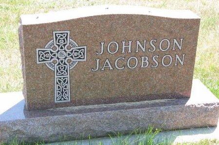 JOHNSON - JACOBSON, *FAMILY MONUMENT - Turner County, South Dakota   *FAMILY MONUMENT JOHNSON - JACOBSON - South Dakota Gravestone Photos