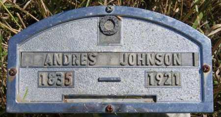 JOHNSON, ANDRES - Turner County, South Dakota | ANDRES JOHNSON - South Dakota Gravestone Photos