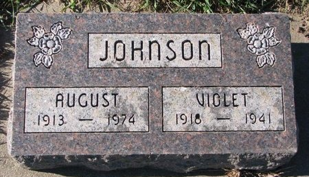 JOHNSON, VIOLET - Turner County, South Dakota | VIOLET JOHNSON - South Dakota Gravestone Photos
