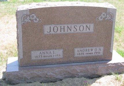 JOHNSON, ANDREW O.N. - Turner County, South Dakota | ANDREW O.N. JOHNSON - South Dakota Gravestone Photos
