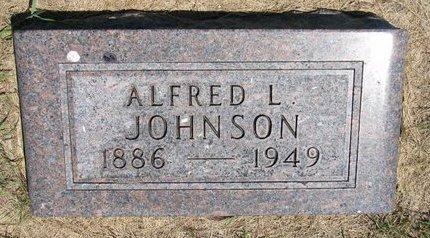 JOHNSON, ALFRED L. - Turner County, South Dakota | ALFRED L. JOHNSON - South Dakota Gravestone Photos