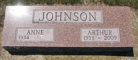 JOHNSON, ANNE - Turner County, South Dakota | ANNE JOHNSON - South Dakota Gravestone Photos