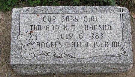 JOHNSON, BABY GIRL - Turner County, South Dakota   BABY GIRL JOHNSON - South Dakota Gravestone Photos