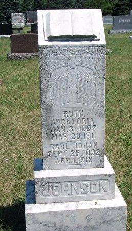 JOHNSON, RUTH VICKTORIA - Turner County, South Dakota | RUTH VICKTORIA JOHNSON - South Dakota Gravestone Photos