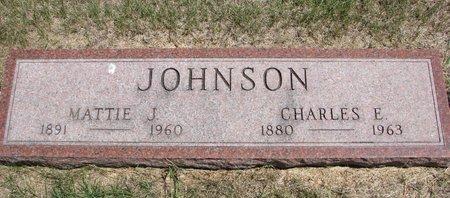 JOHNSON, MATTIE JOHANNA - Turner County, South Dakota | MATTIE JOHANNA JOHNSON - South Dakota Gravestone Photos