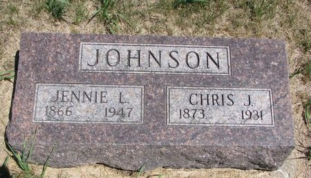 JOHNSON, CHRIS J. - Turner County, South Dakota | CHRIS J. JOHNSON - South Dakota Gravestone Photos