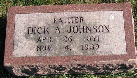 JOHNSON, DICK A. - Turner County, South Dakota | DICK A. JOHNSON - South Dakota Gravestone Photos