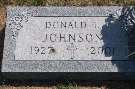 JOHNSON, DONALD L. - Turner County, South Dakota | DONALD L. JOHNSON - South Dakota Gravestone Photos