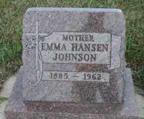 JOHNSON, EMMA - Turner County, South Dakota | EMMA JOHNSON - South Dakota Gravestone Photos