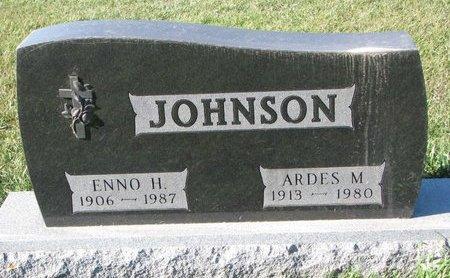 JOHNSON, ENNO H. - Turner County, South Dakota | ENNO H. JOHNSON - South Dakota Gravestone Photos